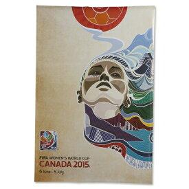 【5%オフクーポン発行中】FIFA女子サッカーワールドカップ オフィシャルポスター 女子サッカー サッカー【正規オフィシャルグッズ】FIFA Women's World Cup 2015 Official Poster