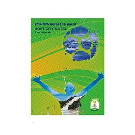 2014 FIFA ワールドカップ ブラジル オフィシャルライセンス ポスター ホストシティ 開催都市ポスター ナタール Natal 【正規オフィシャルグッズ】