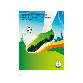 2014 FIFA ワールドカップ ブラジル オフィシャルライセンス ポスター ホストシティ 開催都市ポスター ポルト・アレグレ 【正規オフィシャルグッズ】