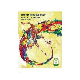 2014 FIFA ワールドカップ ブラジル オフィシャルライセンス ポスター ホストシティ 開催都市ポスター レシフェ Recife 【正規オフィシャルグッズ】