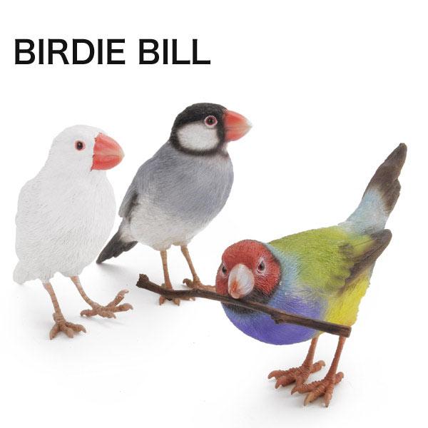 インテリア 雑貨 小物 オブジェクト BIRDIE BILL バーディ ビル ブランド magnet オシャレ雑貨 コキンチョウ 桜文鳥 白文鳥 小鳥 マグネットホル ダーあす楽