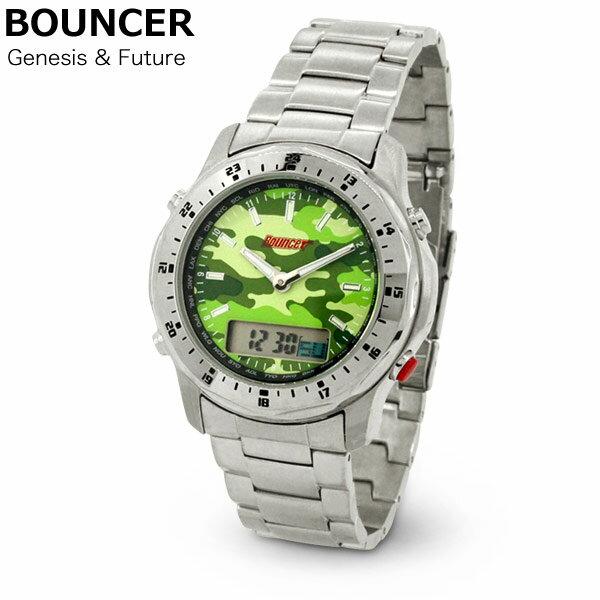 BOUNCER バウンサー GENESIS FUTURE メンズ アナログ デジタル 腕時計 あす楽