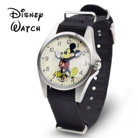 メンズ 腕時計 ミッキー ミッキーウォッチ ミッキーマウス ディズニーウォッチ NATOベルト オールドミッキー 送料無料 あす楽