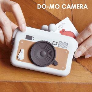 カードケース シリコン DO-MO CAMERA カメラ 名刺入れ コインケース ネックストラップ付 かわいい おしゃれ プレゼント【送料無料】