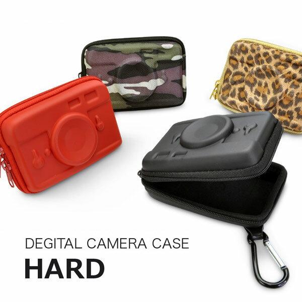 デジカメケース HARD ハード ブランド Motif かわいい カメラ型 デジタルカメラ ケース テクスチャ & カラフル /あす楽