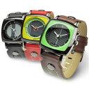 MODULE カラーバー メンズ アナログ 腕時計 デザインウォッチ ファッションウォッチ【メール便送料無料】