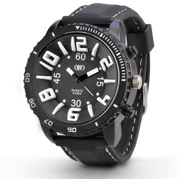メンズ 腕時計 イデアルタイム ビッグフェイス 3D INDEX アナログ デザイン 男性用 ウォッチ men's watch あす楽