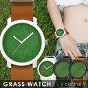 iDEALTIME GRASS WATCH Central イデアルタイム グラスウォッチ セントラル 芝生 メンズ レディース 腕時計 日本製ムーブメント 男...