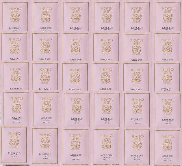 『資生堂★フィト&ローズ バブルバス 30包セット』泡風呂/入浴剤福袋:フィトアンドローズパウチ30個バラ/薔薇