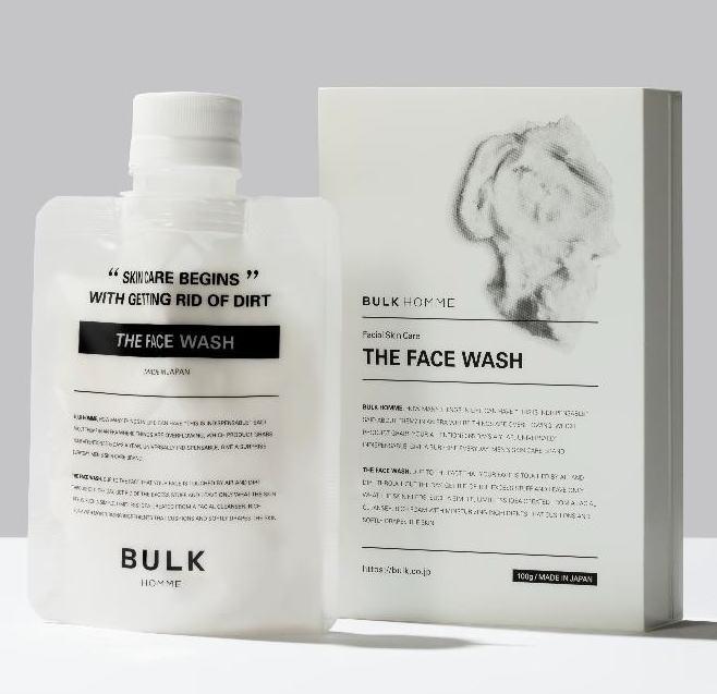 【定形外郵便・送料無料】【正規品】NEWバルクオム ザ フェイスウォッシュ(BULK HOMME the face wash)洗顔料 100g