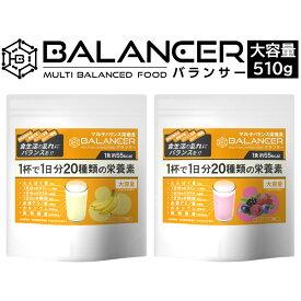 バランサー 510g 栄養補助食品 低糖質 高たんぱく 健康食品 サプリメント 栄養食品 栄養ドリンク 健康ドリンク マルチ栄養食 たんぱく質 ビタミン ミネラル 葉酸 鉄分 カルシウム フレイル 低栄養対策 プロテイン ダイエット 準完全食 非常食