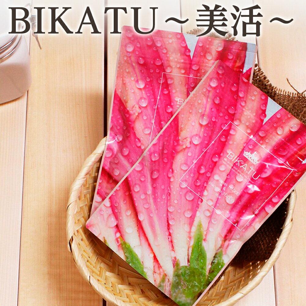 BIKATU/美活 コラーゲン プラセンタ 美容パウダー エイジングケア 100g