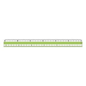 共栄プラスチック CPK-30-G カラー定規 30CM【1本】 CPK30G