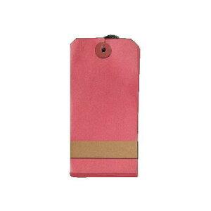 菅公工業 タ605 針金荷札カラー大赤 1箱1000枚