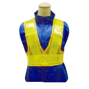 富士手袋工業 FUJITE 4907534327503 3275 ショート安全ベスト 黄/黄