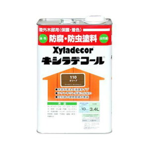 カンペハピオ 00017670530000 キシラデコール オリーブ 3.4L