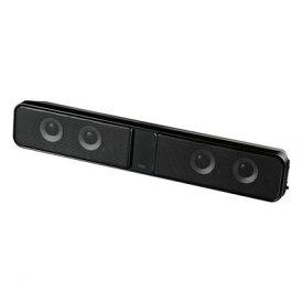 サンワサプライ [MM-SPSBA2N] 液晶テレビ・パソコン用サウンドバースピーカー MMSPSBA2N