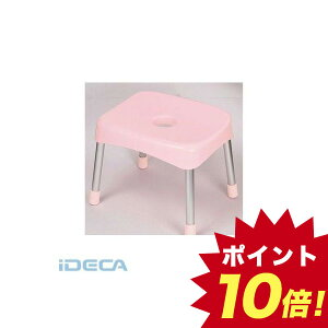 BU85423 スタイルピュア バススツールワイド30 ピンク 【ポイント10倍】