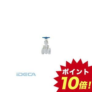 【個人宅配送不可】CN99081 直送 代引不可・他メーカー同梱不可 ナイロン11/エポキシ樹脂ライニング フランジ形仕切弁 JIS10K 【ポイント10倍】