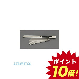GT91280 130mm カッターナイフ ステンレス製/替刃10枚付 【キャンセル不可】 【ポイント10倍】