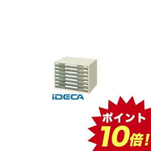 JS86092 レターケース透明プラスチック引出しタイプA3ヨコ 7段 LC−YAG7M 【ポイント10倍】