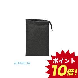 JT99637 不織布巾着袋10枚入 黒 260X180MM 【ポイント10倍】