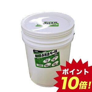 JV06325 アサヒペン プロ用多用途ペール 20L TB−7白 【ポイント10倍】