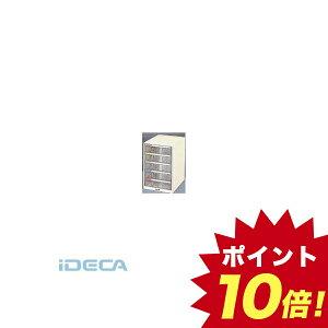 KP68987 プラスチックB4レターケース深型5段 【ポイント10倍】