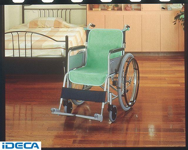 JP96188 車椅子シートカバー 防水2枚入グリーン