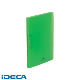 KR43623 AQUA DROPs スーパーパンチレスファイル A4・S型 6黄緑【1冊】 【ポイント10倍】
