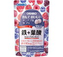 オリヒロ かんでおいしいチュアブルサプリ 鉄+葉酸 60g