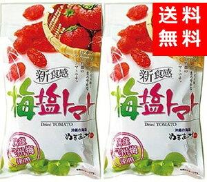 送料無料 沖縄美健 梅塩トマト 120g×2個セット ポスト投函 代引不可
