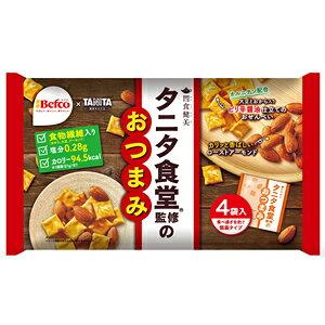 タニタ食堂監修のおつまみ(21gX4袋) 食物繊維 塩分控えめ 低カロリー おせんべい お煎餅 アーモンド