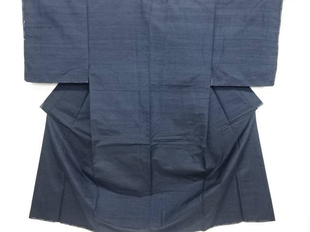 【IDN】 手織り真綿紬男物着物アンサンブル【リサイクル】【中古】【着】