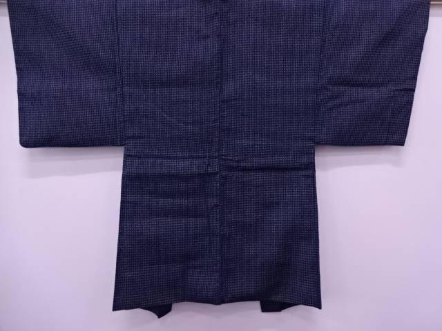 【IDN】 抽象模様織出し男物羽織【リサイクル】【中古】【着】