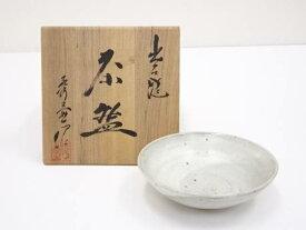 【IDnet】 出石焼 山本秀壷造 平茶碗【中古】【道】