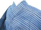 【IDnet】 男物浴衣 コーマ地 幾何学文【リサイクル】【中古】【着】
