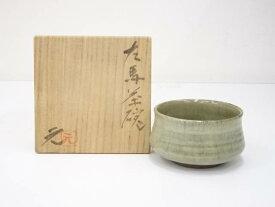 【IDnet】 上野焼 高鶴元造 左馬茶碗(共箱)【中古】【道】