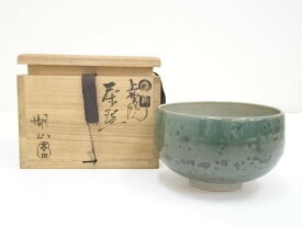 【IDnet】 上野焼 高田湖山造 茶碗(共箱)【中古】【道】