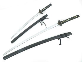 【IDnet】 【・趣味】 黒刀・模造刀2本セット【アンティーク】【中古】【道】