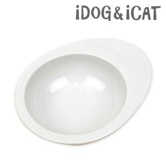 iDog & iCat オリジナルドゥーエッグ 食物碗纯白色