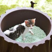 【猫】【トイレ】【おしゃれ】【スコップ付き】【猫用トイレ】