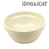 【犬】【猫】【フードボウル】iDog&iCatオリジナルスタックフードボウルアイボリー。詳細