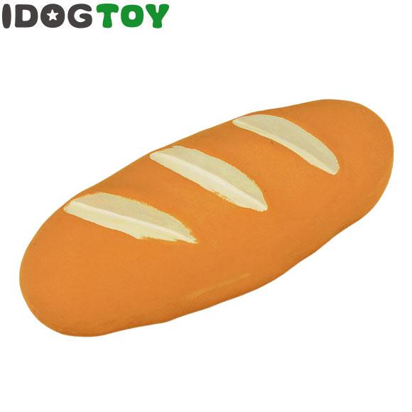 【 犬 おもちゃ 】IDOG&ICAT オリジナル ラテックスTOY やきたてフランスパン 笛無し メール便OK【 ラテックス ゴム ラバー 犬用おもちゃ ドッグトイ 玩具 超小型犬 小型犬 犬用 i 】【 あす楽 翌日配送 】