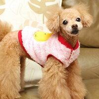 ふんわりボーダー柄が可愛い犬服タンクトップ