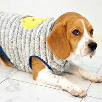 マルチボーダー柄が雰囲気良いです犬服タンクトップ