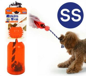 【犬 歯磨き おもちゃ】 リッチェル Richell busybuddy ビジーバディタグボトル SS 【デンタルケア ハミガキ はみがき】【ドッグトイ 犬のおもちゃ 玩具】【超小型犬 小型犬 犬用】【i dog】