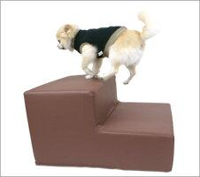 【犬】【階段】iDogLivingiStepminiアイステップミニレザータイプ。商品画像2。