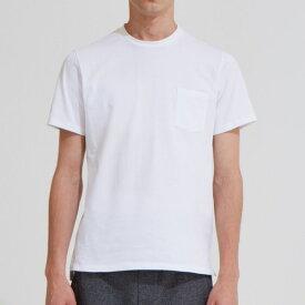 CELLs Recoverywear セルズ リカバリーウェア 丸首ポケットTシャツ オフホワイト ユニセックス 疲労回復