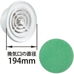 ナスタ(キョーワナスタ)製 8603PRシリーズ用アレルフィルター(5枚入)